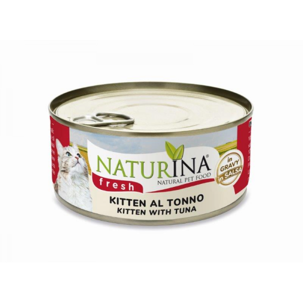 FRESH LATTINE KITTEN AL TONNO 70g