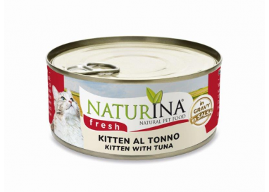 Fresh cans Kitten with Tuna 70g