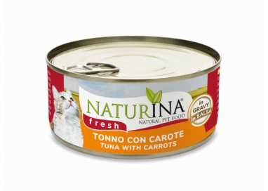Fresh cans Tuna with Carrots 70g