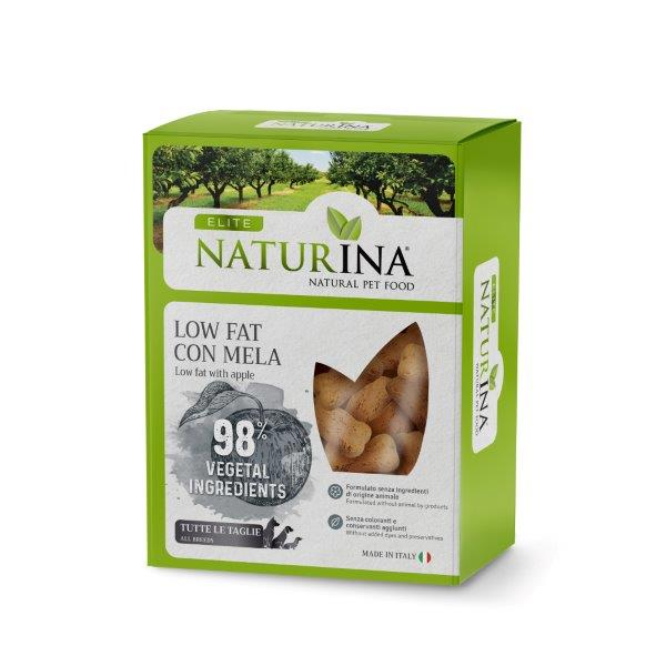 Elite Biscotto Low Fat con Mela 400g