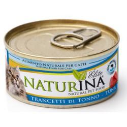 Naturina Elite Umido Trancetti di Tonno