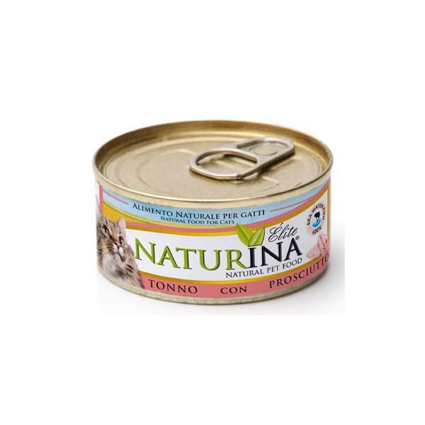 Elite Wet Tuna with Ham 70g