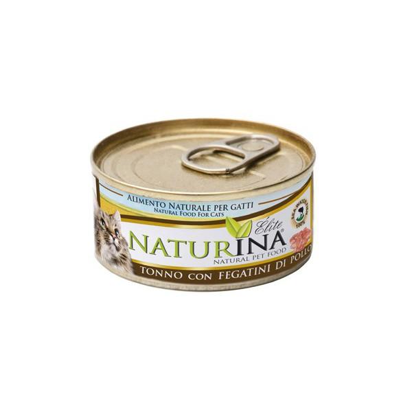 Elite Wet Tuna with Chicken Livers 70g