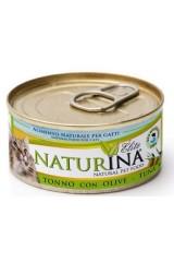 Mokré Naturina elite: tuňák, kuře nebo hovězí maso pro vaši kočku
