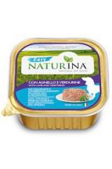 Naturina Easy Wet Dog: vlees of vis zonder toegevoegde GGO's