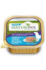 Naturina Easy Wet Dog: meat or fish without ADDED GMOs